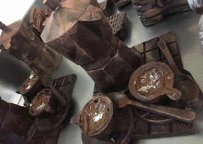 Caffettiera di cioccolata