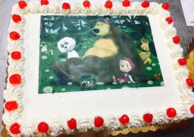 Torte personalizzate Masha e Orso