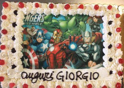 Torte personalizzate Avengers Compleanno