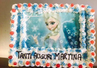 Torte personalizzate Frozen
