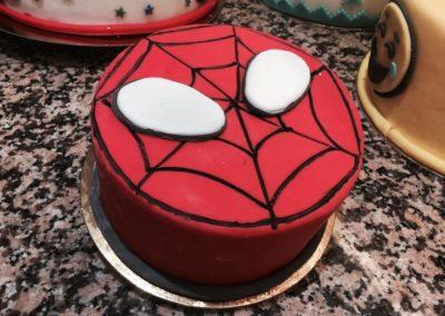 Torte personalizzate Spiderman