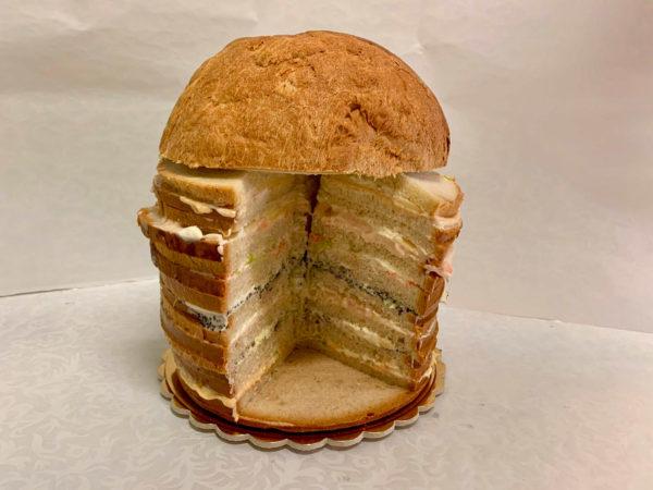 Pan brioche farcito