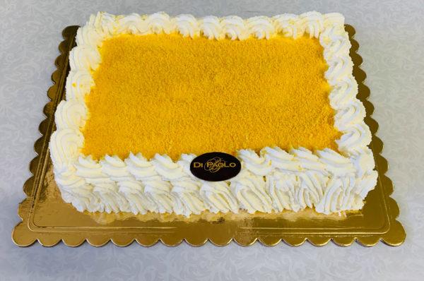 Torta Mimosa Stampo Rettangolare