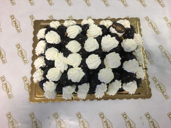 Torta Profiteroles Stampo Rettangolare